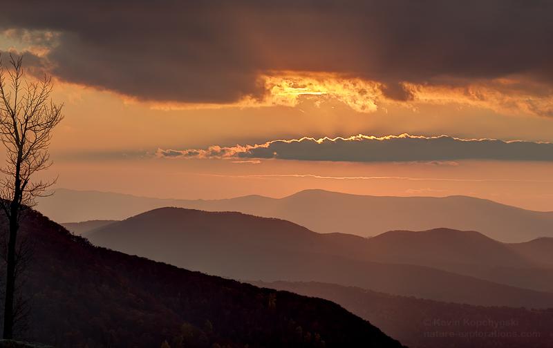 Autumn Sunset Spitler Knoll