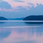 Early Summer Dusk at Quabbin Reservoir