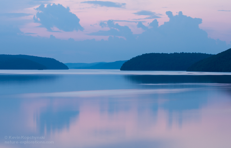 Early Summer Dusk at Quabbin Reservoir